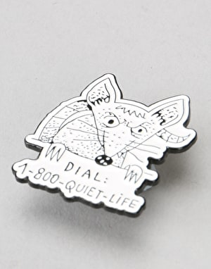 The Quiet Life Dial A Rat Lapel Pin - Multi