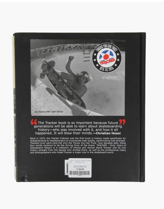 Tracker Trucks 40 Years of Skateboarding Book
