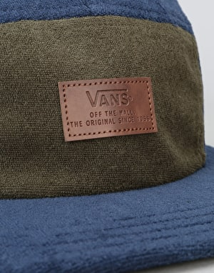 Vans Mansfield Camper 5 Panel Cap - Dress Blue/Grape Leaf