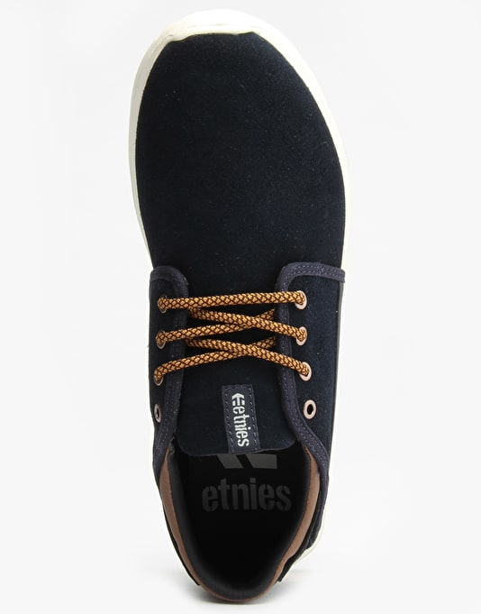 Etnies Scout Shoes - Navy/Brown/White