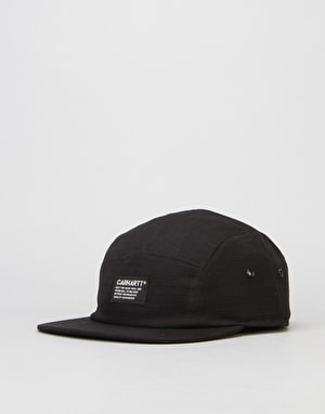 Carhartt Hill Starter 5 Panel Cap - Black