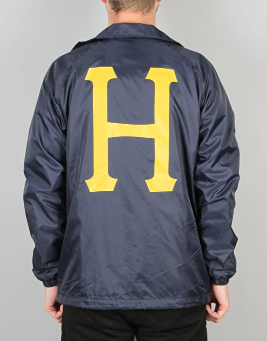 HUF Recruit Coach Jacket - Navy