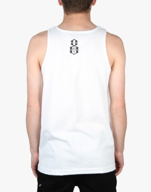 Rebel8 Stardust Vest - White