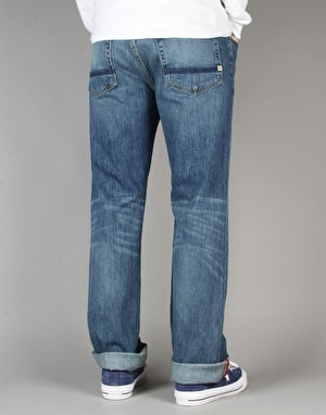 Element Rochester Denim Jeans - SB Mid Used