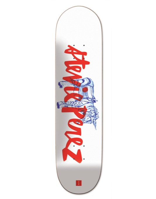 Chocolate Perez Transportation Skateboard Deck - 8.25""