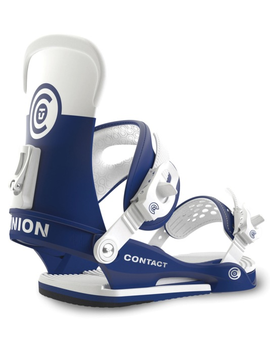 Union Contact 2016 Snowboard Bindings - Blue/White