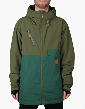 Thirty Two Holcomb 2016 Snowboard Jacket - Military