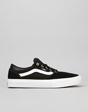 Vans Gilbert Crockett Pro Skate Shoes - Black/White/Red
