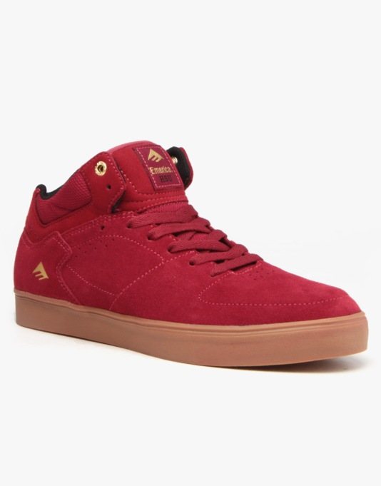 b7051a54ebf Emerica The Hsu G6 Skate Shoes - Burgundy Gum
