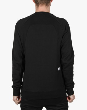 Nike SB Everett Motion Fleece Crew - Black/White