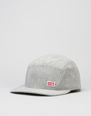 Element 92 Crew 5 Panel Cap - Grey Heather