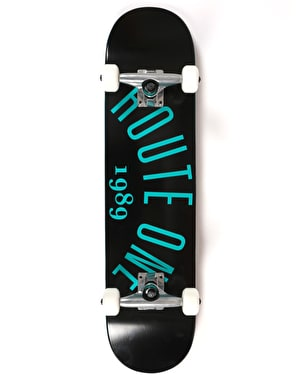Route One Arch Logo Complete Skateboard - 7.5