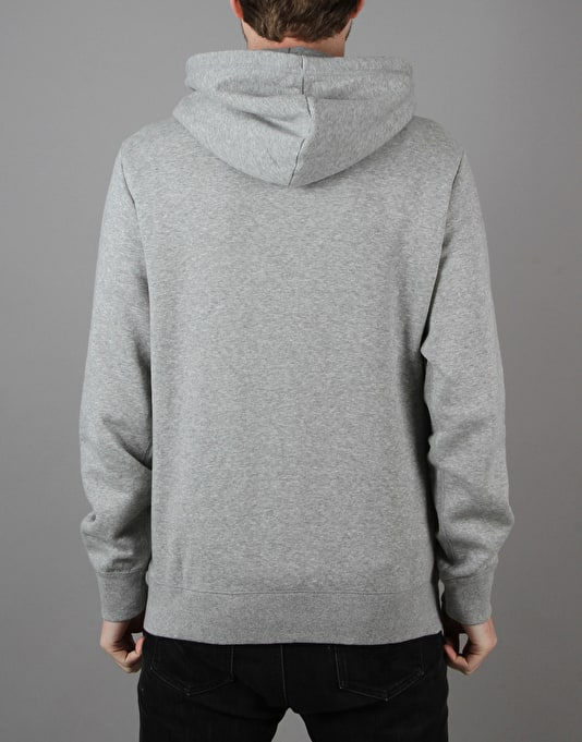 Converse Core Popover Pullover Hoodie - Vintage Grey Heather