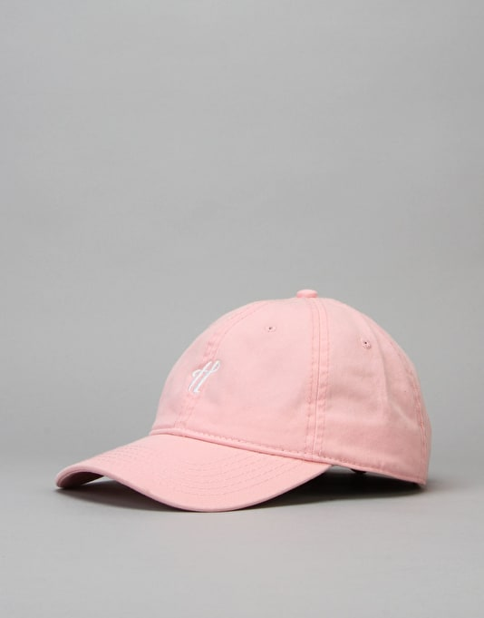 The Hundreds Signature Strapback Cap - Light Pink
