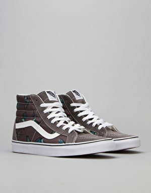 Vans SK8-Hi Reissue Skate Shoes - (Dirty Bird) Pewter/True White