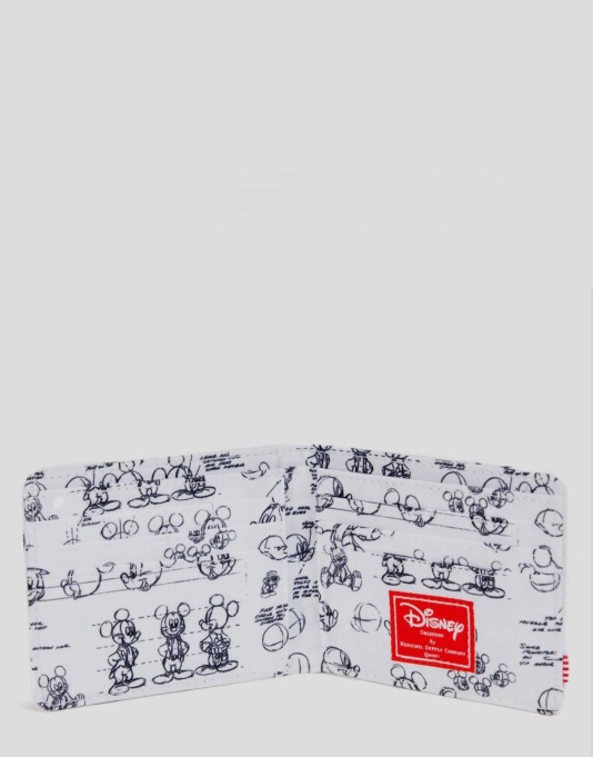 Herschel Supply Co. x Disney Roy Wallet - Mickey Mouse White