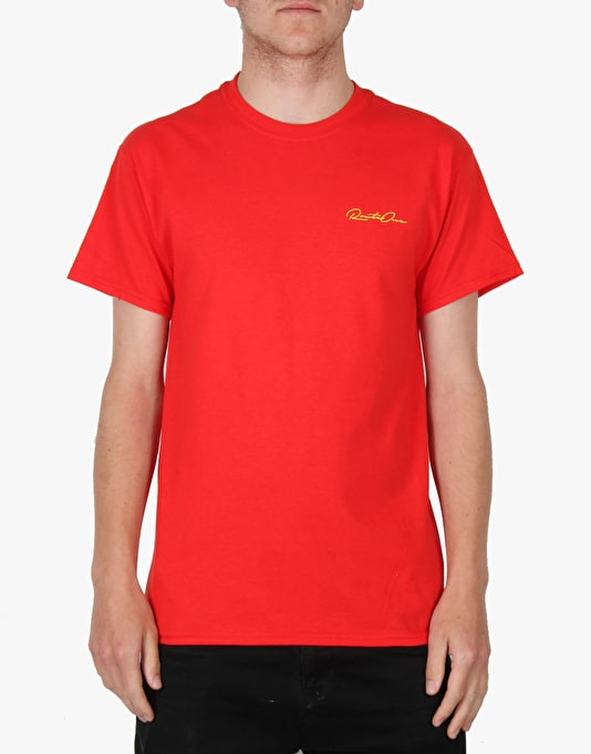 Route One Plank T-Shirt - Red