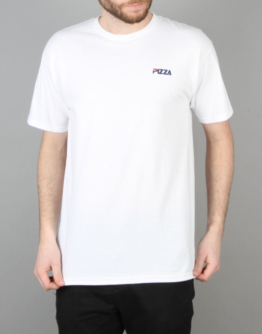 Pizza Fizza T-Shirt - White