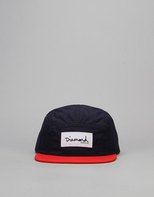 Diamond Supply Co. Nylon 5 Panel Cap - Navy