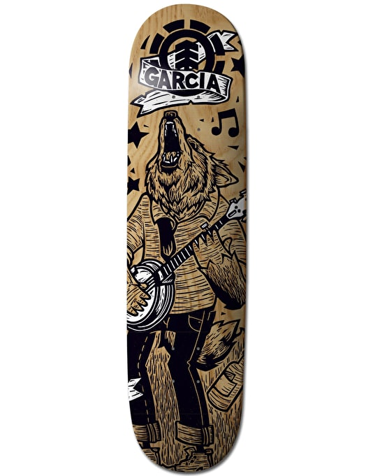 Element x J-Fellows Garcia Animal Band Featherlight Pro Deck - 8.125""