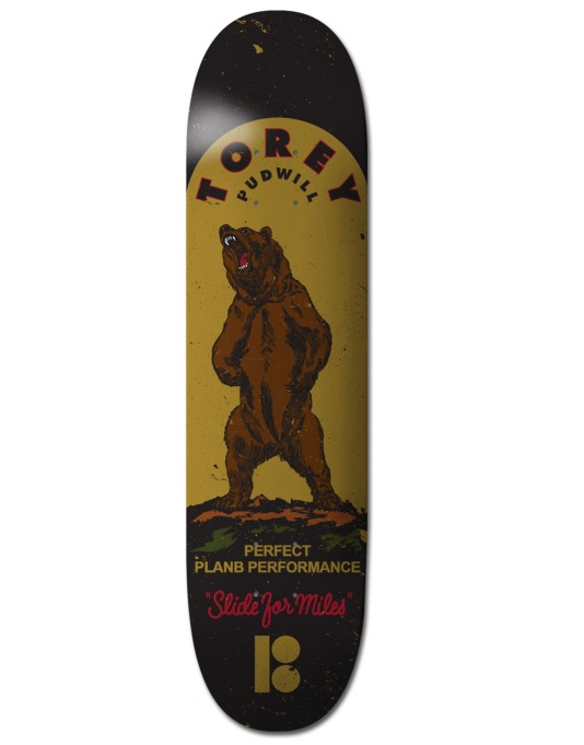 Plan B Pudwill Miles BLK ICE Pro Deck - 8""