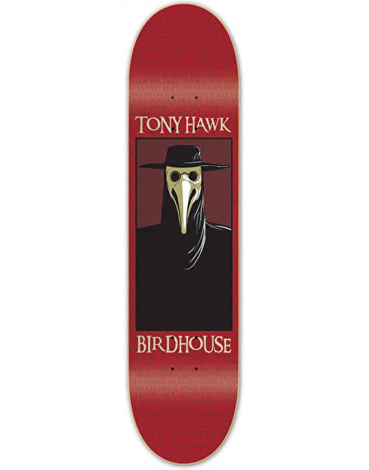Birdhouse Hawk Plague Doctor Pro Deck - 8""