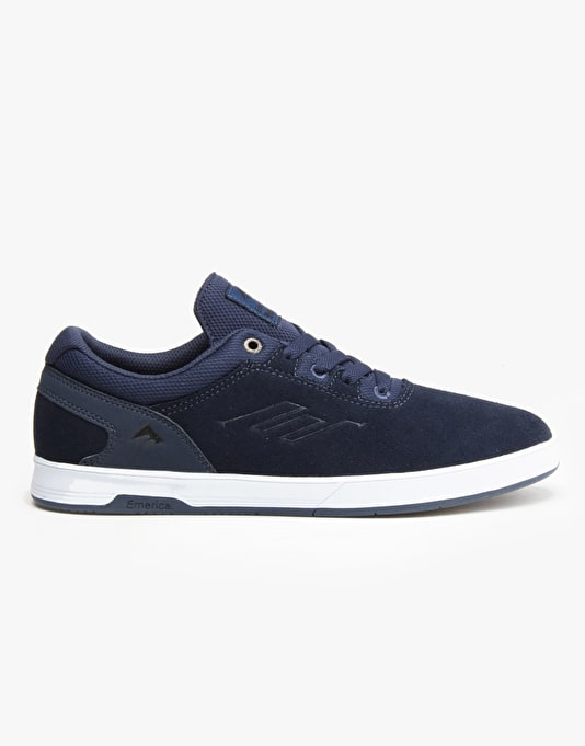 Emerica Westgate CC Skate Shoes - Dark Blue/White