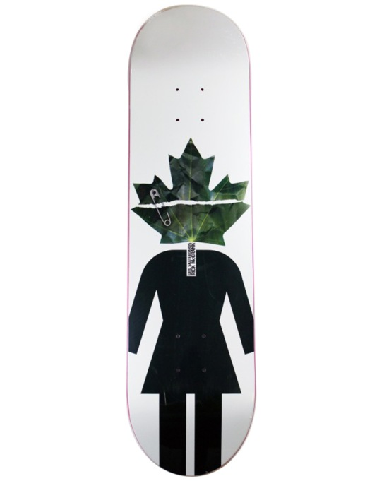 Girl McCrank Maple Leaf Pro Deck - 8""