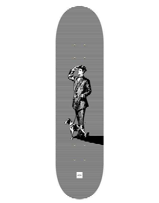 Route One 'Arthur' Gents Series Skateboard Deck - 8.25""