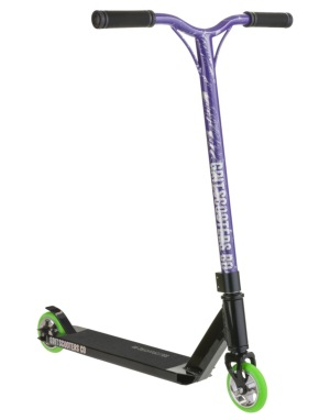 Grit Fluxx 2016 Scooter - Black/Purple Silver Laser
