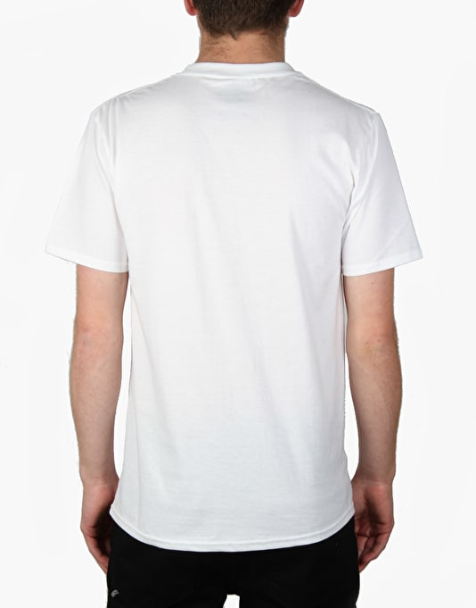 The National Skateboard Co. Infinite T-Shirt - White