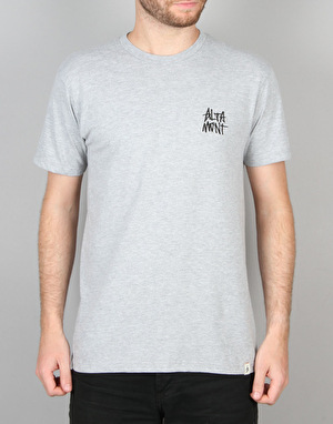 Altamont Stacked Decades T-Shirt - Grey/Heather