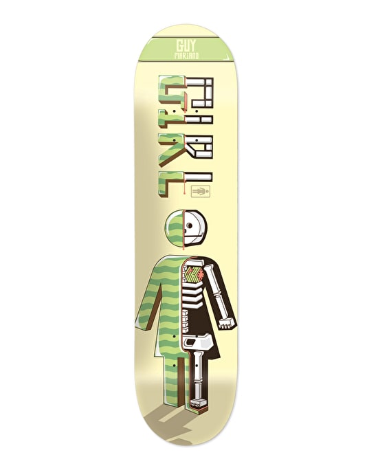 Girl x Mitch Viney Mariano #MADETHIS Pro Deck - 8.125""
