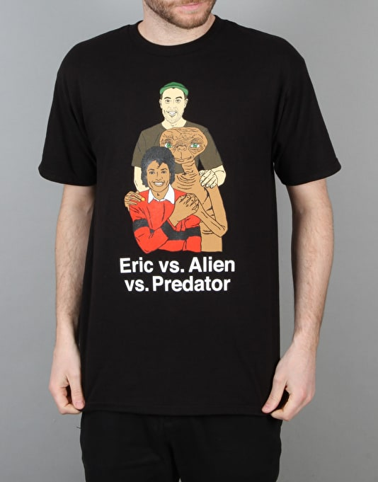 Skate Mental Koston vs. Alien vs. Predator T-Shirt - Black