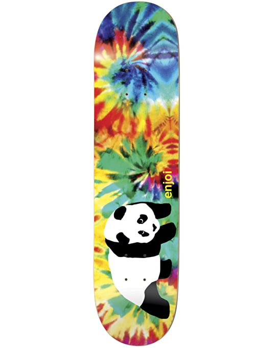 Enjoi Panda Tie Dye V2 Team Deck - 8""