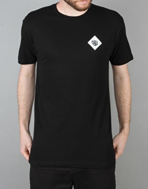 Etnies x Element Two Headed T-Shirt - Black