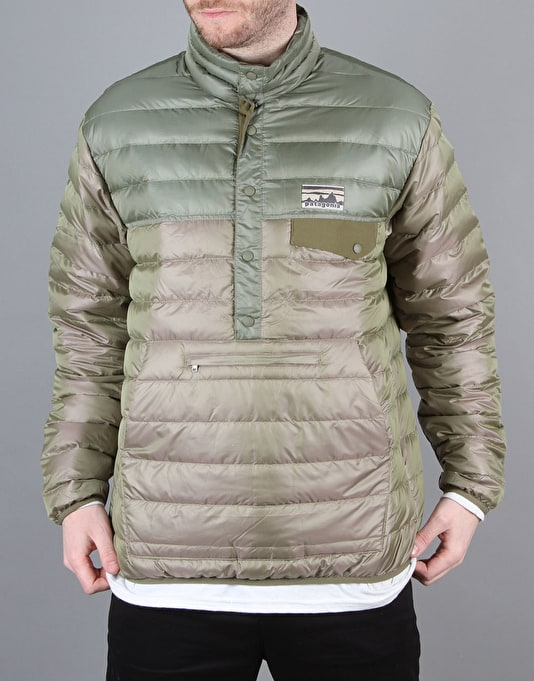 Patagonia Down Snap Jacket - Ash Tan