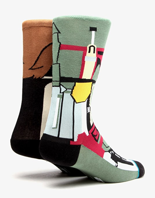 Stance x Star Wars Bounty Socks - Brown