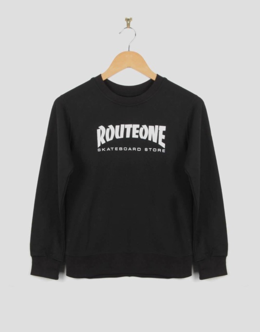Route One Skate Store Boys Sweatshirt - Black