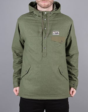 Patagonia Reclaimed Wool Snap Jacket - Fatigue Green