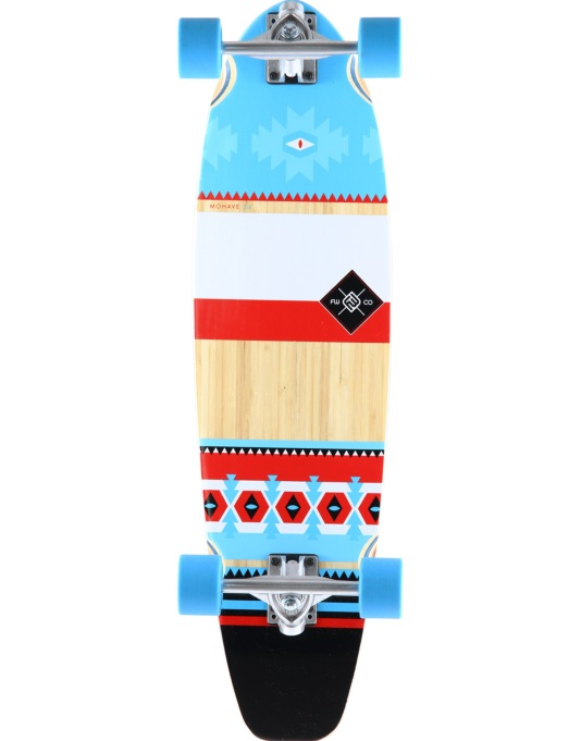 "Flying Wheels Mohave Bamboo Cruiser - 9.25"" x 34"""