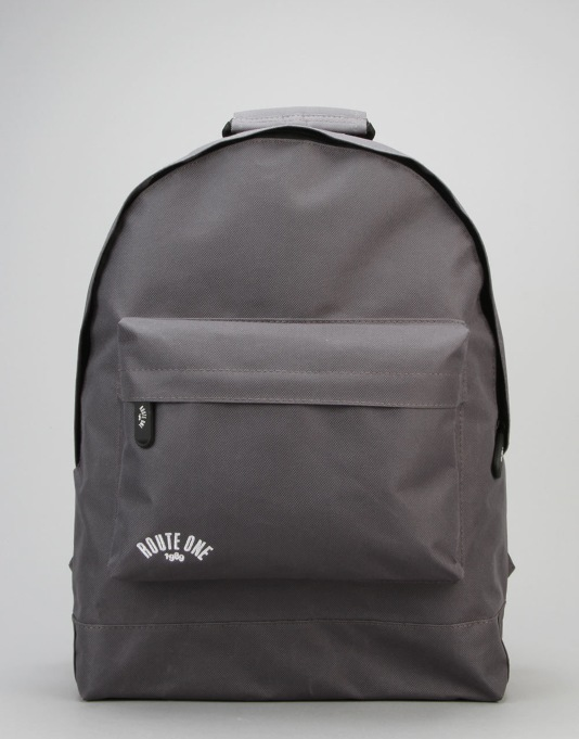 Route One Backpack - Charcoal