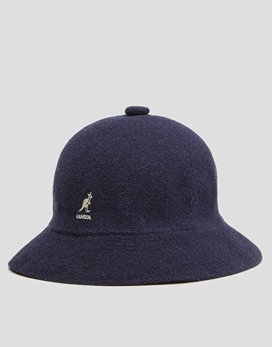 Kangol Bermuda Casual Bucket Hat - Navy