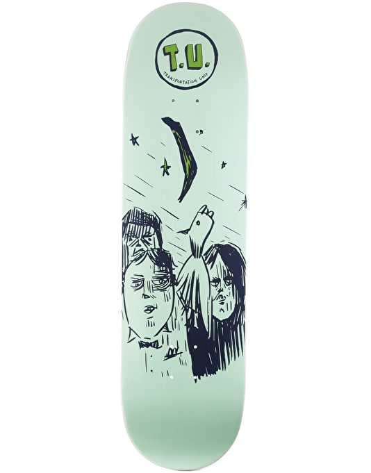 Transportation Unit Silver Moon Team Deck - 8.75""