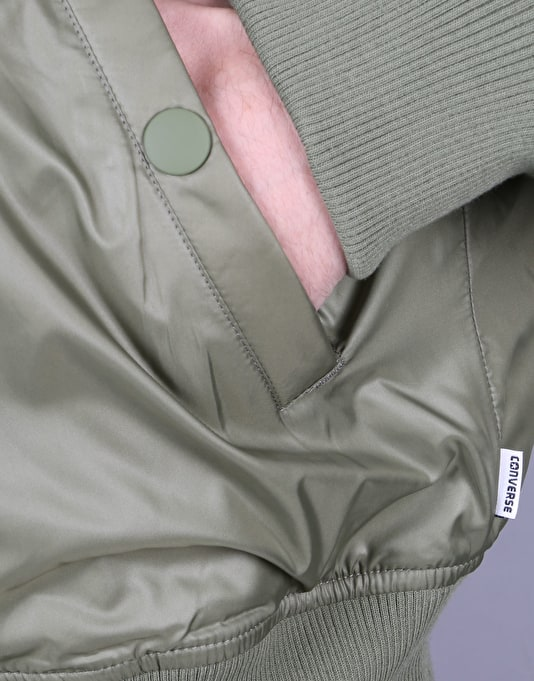 Converse Core Reversible MA-1 Puffer Jacket - Fatigue Green