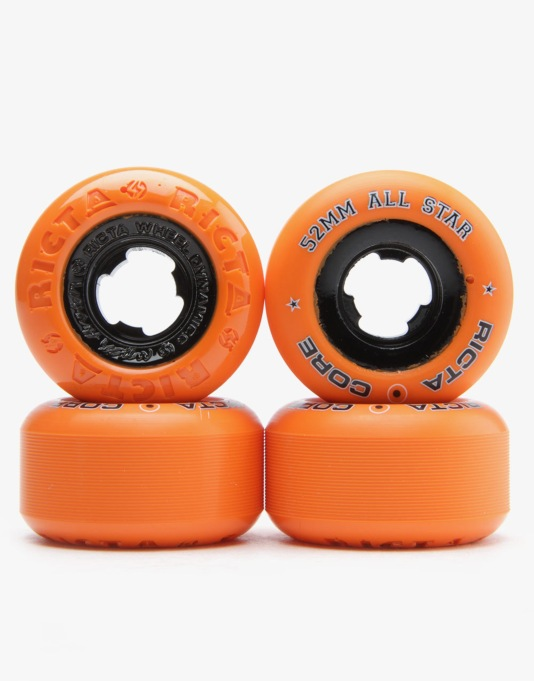 Ricta All Star Chrome Core Team Wheel - 52mm