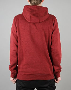 Adidas Blackbird Basic Pullover Hoodie - Burgundy Heather-R