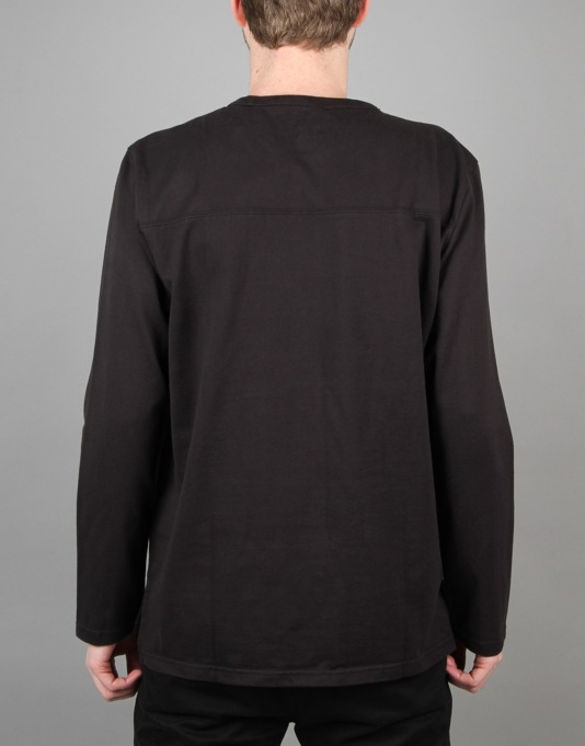 Levi's Skateboarding L/S Football Shirt - Jet Black