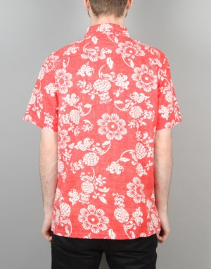 Vans The Duke Aloha 50th Anniversary Shirt - Reinvent Red