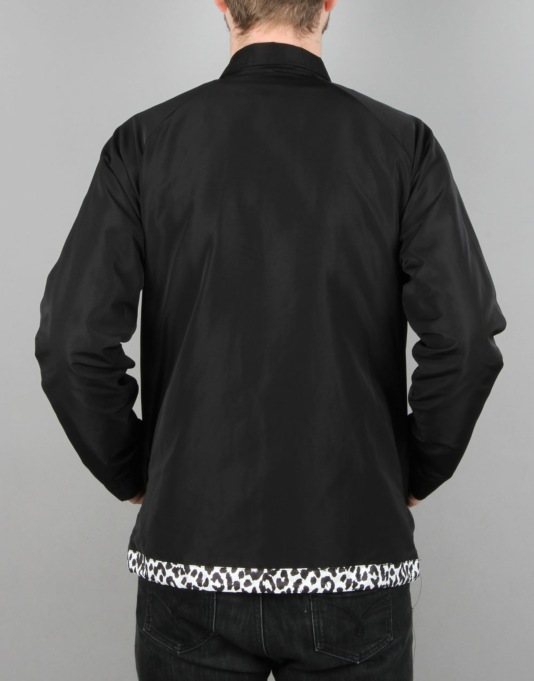 Crooks & Castles Maison Coach Jacket - Black